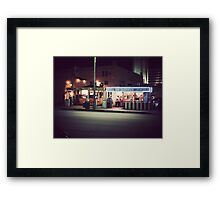The In-Between Years Framed Print