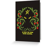 Merry Cthulmas Greeting Card