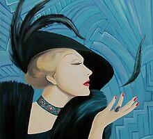 Marlene Dietrich by vkouznetsova
