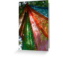 Sari Tree Greeting Card