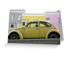 beetle 2.0 Greeting Card