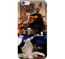 My paintings on the stage of Xiomara Fortuna concert iPhone Case/Skin