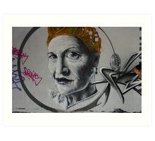 Vivien Westwood  Art Print