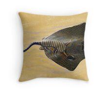 Stingray Dreaming Throw Pillow