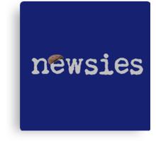 Newsies w/ Cap Canvas Print