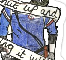 """My Chemical Romance - Na Na Na """"Shut Up And Sing It With Me"""" Sticker"""