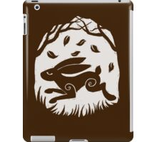 Leaping Hare in Autumn iPad Case/Skin