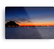 Castle Sunrise Metal Print
