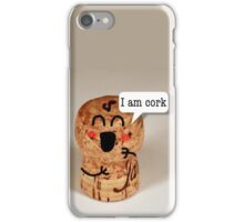 IAmCork iPhone Case/Skin
