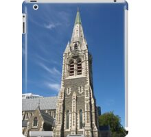 Christchurch Cathedral New Zealand iPad Case/Skin