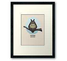 My neighboor Totoro Framed Print