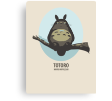 My neighboor Totoro Canvas Print