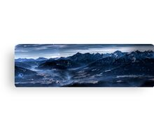 Blue Atmosphere Canvas Print