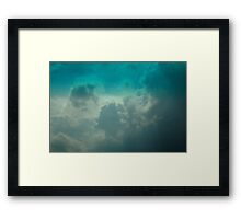 0934 - HDR Panorama - Sky Framed Print