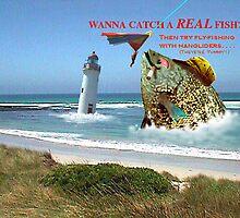 Wanna catch a real fish? by Karsten Stier