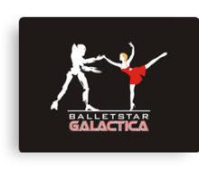 Balletstar Galactica Canvas Print