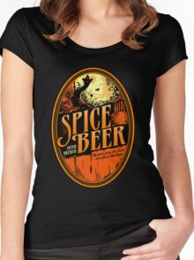 Spice Beer Label Women's Fitted Scoop T-Shirt