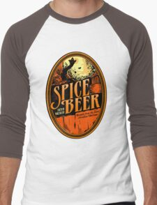 Spice Beer Label Men's Baseball ¾ T-Shirt