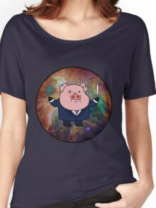 """Smart"" Waddles Women's Relaxed Fit T-Shirt"