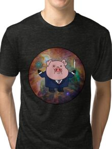"""Smart"" Waddles Tri-blend T-Shirt"
