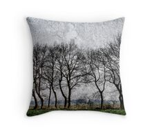 These are trees Throw Pillow