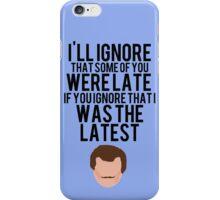 12 Days of StarKid: Lupin iPhone Case/Skin