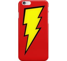Sheldon Cooper Big Bang Theory Lightning The Flash Logo iPhone Case/Skin
