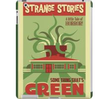 Some Thing That's Green iPad Case/Skin