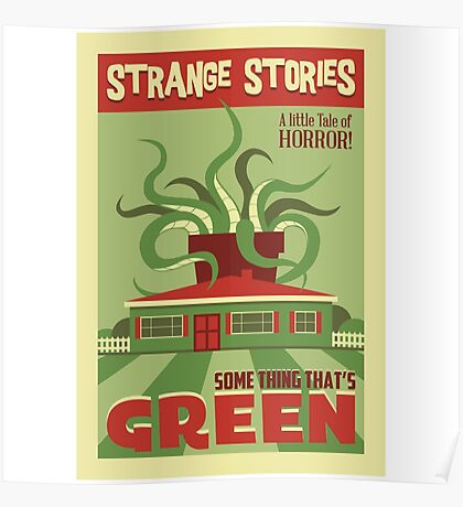 Some Thing That's Green Poster