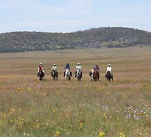 Riders on the plain by Christopher Meder