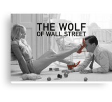 The wolf of wall street - short skirts 2 Canvas Print