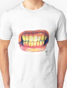 Show Them Your Teeth Unisex T-Shirt