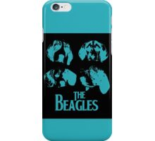 The Beagles (black edition) iPhone Case/Skin