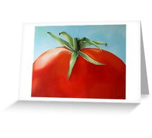 big tomato Greeting Card