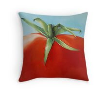 big tomato Throw Pillow