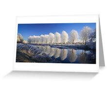 Mirror Trees Greeting Card