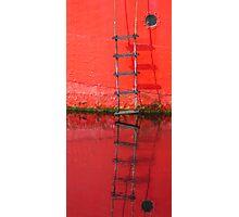 Red ladder Ballydorn Photographic Print