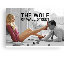 The wolf of wall street - short skirts 4 Canvas Print