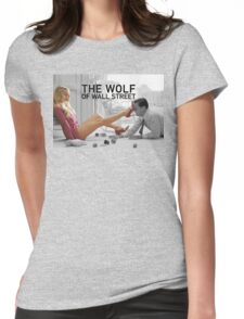 The wolf of wall street - short skirts 4 Womens Fitted T-Shirt