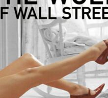 The wolf of wall street - short skirts 4 Sticker