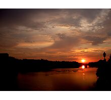 Sunset on the Arno (Number 1) Photographic Print