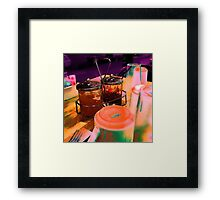 please pass the jelly Framed Print