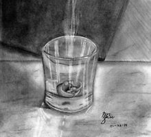 Melted Candle Still Life by Meagan Snee