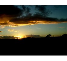 Sunset in the Lake District Photographic Print