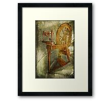 Spin a Yarn Framed Print