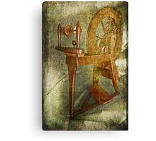 Spin a Yarn Canvas Print