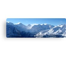 Swiss Alps (Number 1) Canvas Print