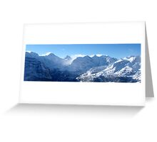 Swiss Alps (Number 1) Greeting Card