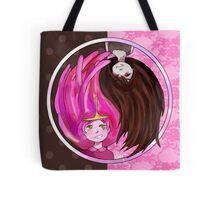 Marceline and Bubblegum Yin Yang Tote Bag