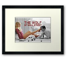 The wolf of wall street - short skirts 6 Framed Print